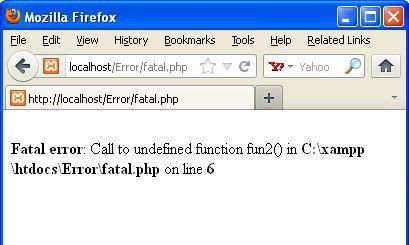 fatal-error